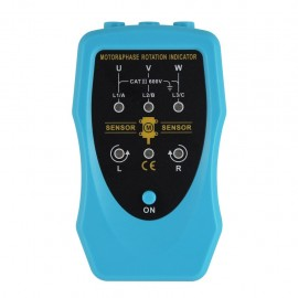 Phase sequence meter /motor rotation conveyor pumps tester