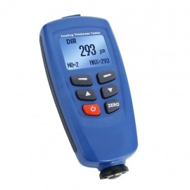 Professional digital paint coating thickness meter gauge with F and NF probes