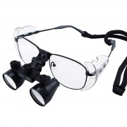 Dental Surgical Loupes with 3.5x Optical Zoom and Nickel Alloy Frame NDL-035N