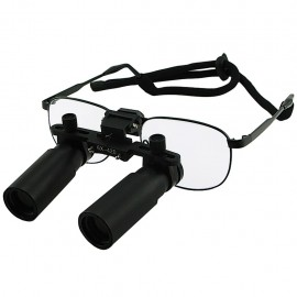 Prismatic Binocular Dental Loupes with 6x optical zoom and nickel alloy frame