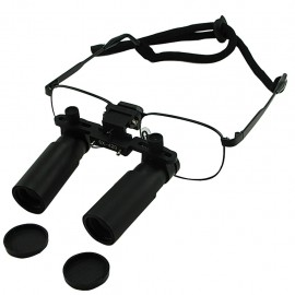 Dental Surgical Loupes with titanium frame DL-060 - 6x optical zoom