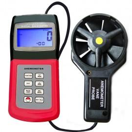 Ψηφιακό Ανεμόμετρο - Θερμόμετρο με αποσπώμενο αισθητήρα