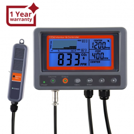 Digital CO2 Carbon Dioxide IAQ Monitor Controller with Relay