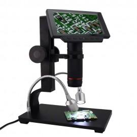 Andonstar 5 inch Screen 1080P Digital Microscope HDMI Microscope for Circuit Board Repair Soldering Tool