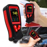 Professional Thickness Meter Gauge Digital HD Colored Display Car Paint Coating Tester
