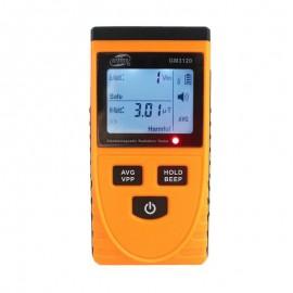 Portable digital electromagnetic radiation detector