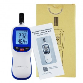 Digital Humidity & Temperature Meter Hygrometer Psychrometer