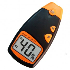 Digital 4-pin wood moisture meter with range 5-40%