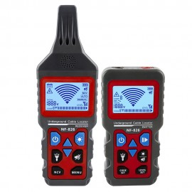 Noyafa NF-826 Wire Tracker Portable Telephone Cable Locator Underground Pipe Detector Professional Cable Finder