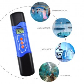 3-in-1 pH Temperature Conductivity EC Meter Tester Digital Pen-Type 19.99 mS/cm