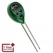 3-in-1 Soil pH, Moisture & Light Meter Tester Probe Sensor, Gardening Plants