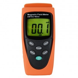 Digital Gauss / Tesla meter detector for electromagnetic field measurement T91