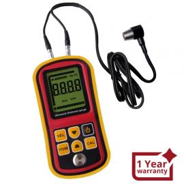 Ultrasonic Thickness Meter Tester Gauge Velocity 1.2~225mm Metal