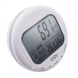 Desktop monitor for indoor air quality measurement - CO2, temperature and humidity