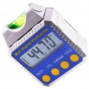 Digital Bevel Box Inclinometer with Spirit level Angle, Protractor with readings always upright
