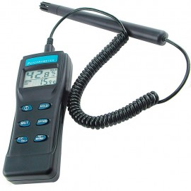 Digital Thermo hygrometer / Psychrometer / Thermometer / Wet Bulb / Humidity with detachable Probe