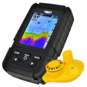 Wireless Rechargeable Fish Finder with Color LCD Display and Wireless Sonar Sensor FF-718LiC-W