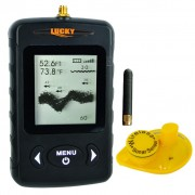 Wireless Fish Finder Sonar Sensor with Dot Matrix and 45m Depth