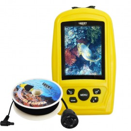 Rechargeable Underwater Set of Camera and 3.5 Fish Finder Monitor with 20m range