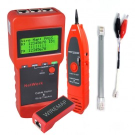 Tester for network / LAN and electrical cables with length measurement function