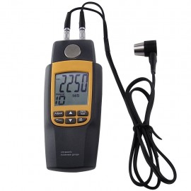 Ultrasonic Thickness Meter / measure velocity of ultrasonic waves for metal, glass and other materials