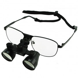 Dental Surgical Binocular Loupes with titanium frame DL-035 - 3.5x optical zoom